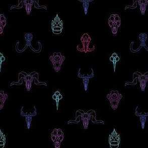 Geometry Animal Skulls #5