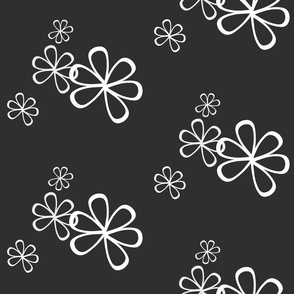 Flowery-BlackWhite