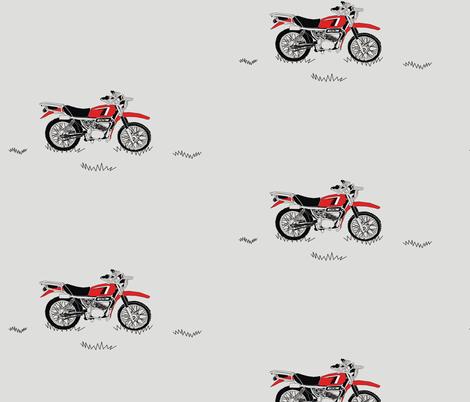 Farmbike fabric by pennyroyal on Spoonflower - custom fabric