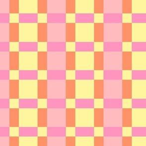 pink box plaid