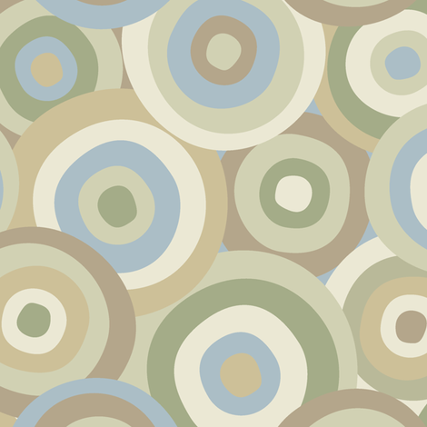 FALL_CIRCLES fabric by juliagrifol on Spoonflower - custom fabric