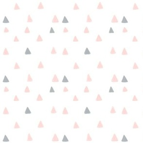 Geometric Triangles Hill Mountain Minimalistic Modern Pattern