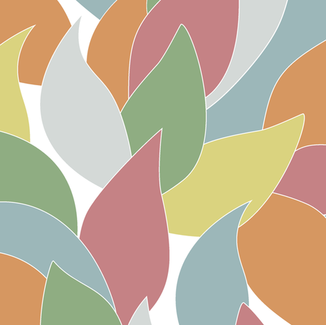 fall_leaves fabric by juliagrifol on Spoonflower - custom fabric