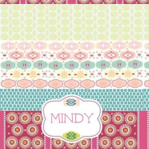Morocco Quilt Personalized-Strawberry