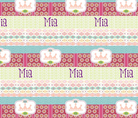 Morocco Quilt - Princess- personalized  fabric by drapestudio on Spoonflower - custom fabric