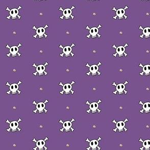 Studs N Skulls Purple