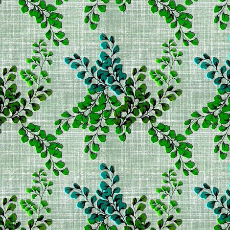 Evening Fern fabric by joanmclemore on Spoonflower - custom fabric