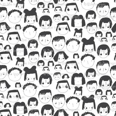 Faces White