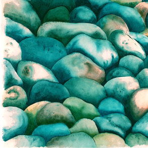 Rockbed in Seaglass