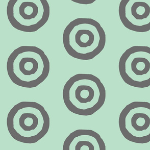 Target in Mint and Gray