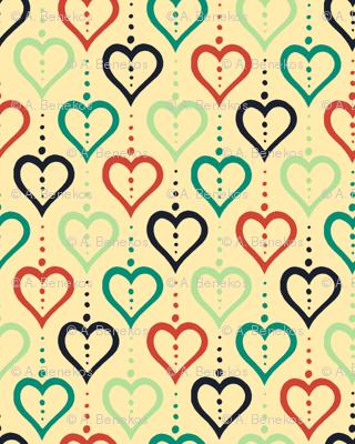 Heart Chain (Summer Farm Yellow)