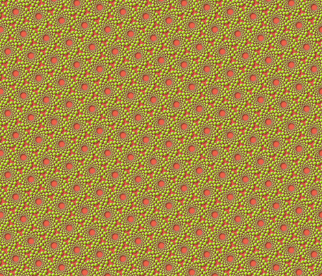 coolswirl 2b coral spring fabric by glimmericks on Spoonflower - custom fabric
