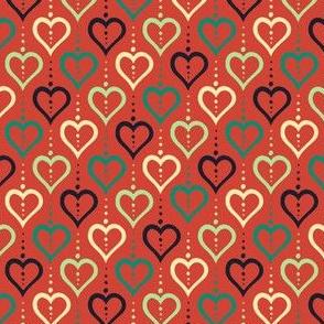 Heart Chain (Summer Farm Red)