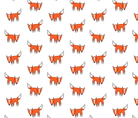 Foxful fabric by leanne on Spoonflower - custom fabric