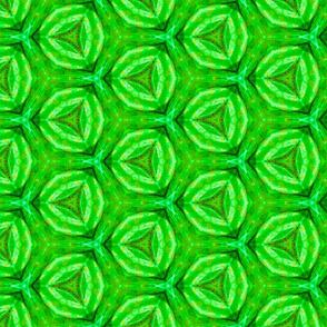 Pila Green Geometric