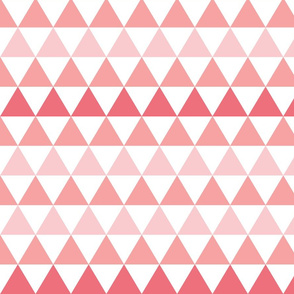 Ombre Triangle Pink