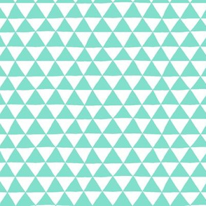 Triangle Geo (mint)
