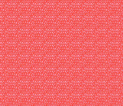 Coral Curls fabric by leanne on Spoonflower - custom fabric