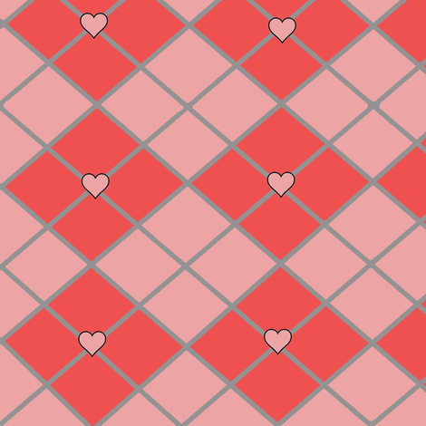 heartgyle fabric by zoeyheart on Spoonflower - custom fabric