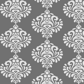 Labyrinth Damask