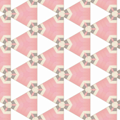 Retro Party Pink Triangles