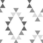 Aztec Ombre Gray