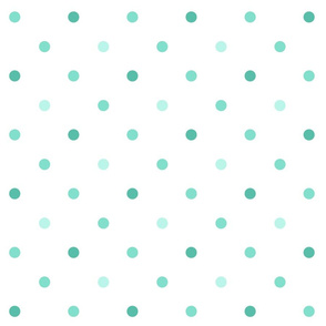 Modern Mint Dot
