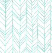 Featherland White/Mint
