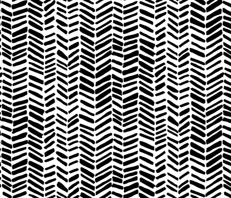 Impression White/Black fabric by leanne on Spoonflower - custom fabric