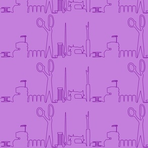 Sewing Skyline Purple