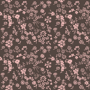 Ditsy_flowers_brown_pink