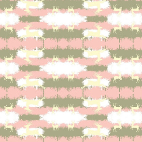 Camo Deer-mirror pink