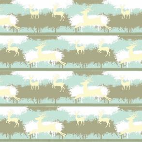Camo Deer-stripes-ocean