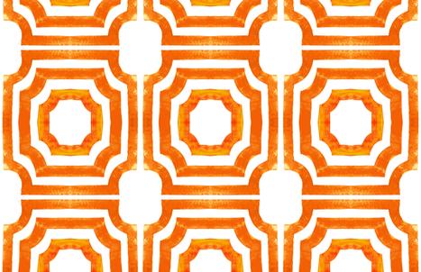 cestlaviv_ Lattice Shadows October fabric by @vivsfabulousmess on Spoonflower - custom fabric