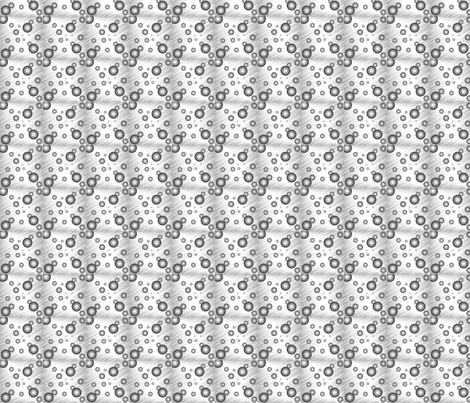 TwoTone Bubbles fabric by msldesigns on Spoonflower - custom fabric