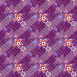 Red, White & Blue Stars & Stripes2