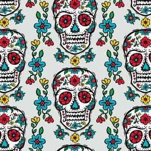 Sugar Skull Tattoo gems