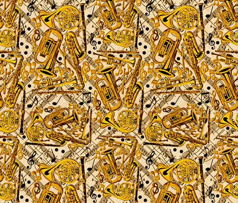 Blow Hard fabric by whimzwhirled on Spoonflower - custom fabric
