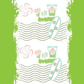Surfing Stripes - PetalBeach