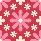 U846X tiny floral - pink