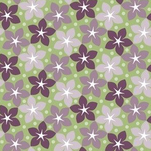 03245985 : S43 floral : geometrical blooms