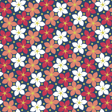 03245987 : S43 floral : matisse garden fabric by sef on Spoonflower - custom fabric