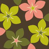 03246005 : S43 floral : dim sum dainties dark