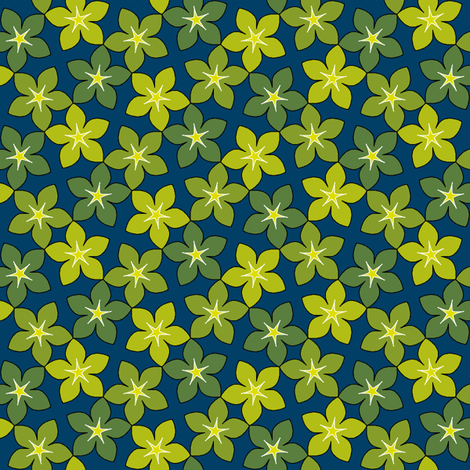 03246024 : S43 floral : twinkling in the undergrowth fabric by sef on Spoonflower - custom fabric