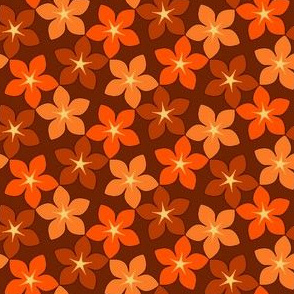 03246035 : S43 floral : pumpkin time