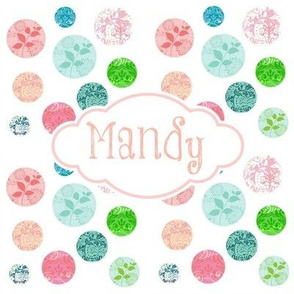 Chantilly Drops LG8 -  Sorbet PERSONALIZED Mandy