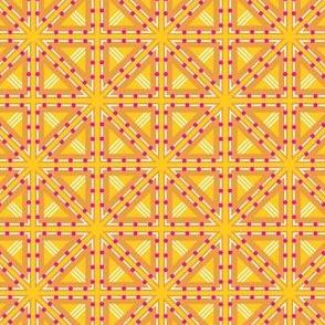 Kolonaki Triangles - Yellow