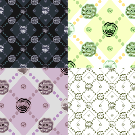 button_coordinates fabric by amyjeanne_wpg on Spoonflower - custom fabric