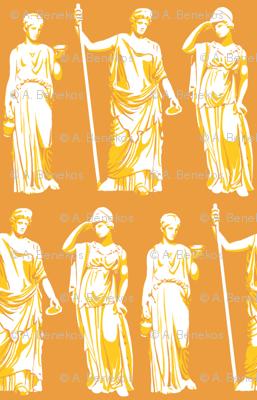 Kolonaki Goddess - Orange