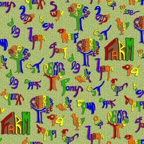 MacDonald's Alphabet Farm